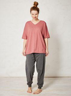Pink Organic Cotton Top