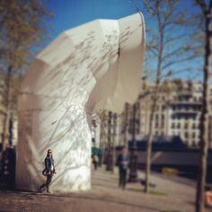 Le centre Pompidou #selfie  picture: Pirjo Hästbacka