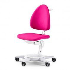 #Drehstuhl #Moll Maximo 15 (Gestell weiß / Bezug pink). In vielen anderen Farben erhältlich.