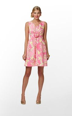 """Parker Dress"" in ""Hotty Pink Day Lilly"" (Spring 2012) #lillywishlist"