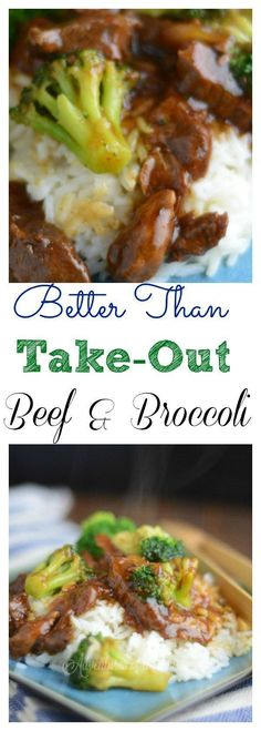 Share with friends 13K 3 13KSharesBetter than Take-Out Beef & Broccoli Have Mouth watering Better than Take-out Beef & Broccoli in under 20 minutes. My husband