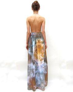 Carina Nebula Maxi Skirt