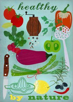 healthy by nature Bilder: Poster von Elisandra bei Posterlounge.de