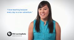 Julie loves teaching because everyday is a new adventure. Hear more at  http://to.pbs.org/teach #PBSLovesTeachers