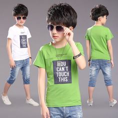 Cheap shirt kids, Buy Quality kids fashion shirts directly from China kids shirts Suppliers: New Fashion Boys Cotton T-shirt Tees Top Letter Printing Children Clothing Summer Short-Sleeved Shirt Kids Clothes Boy Costume Kids Clothes Boys, Kids Boys, Children Clothing, Teenagers, Little Fashion, Boy Fashion, Boy Costumes, Mascot Costumes, Kids Outfits
