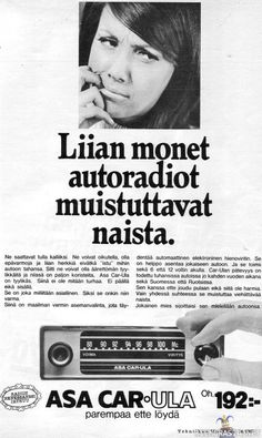 Radios, Monet, Good Old Times, Teenage Years, Old Toys, Old Pictures, Ancient History, Vintage Ads, Finland