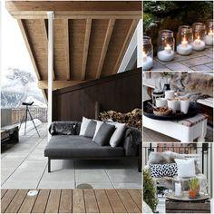 dream gardens: Zimný balkón a terasa nemusia byť bezútešné!