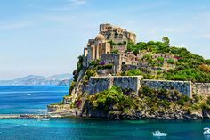 Ischia, Italy's island of legends and love stories, has been welcoming pleasure seekers since the days of Ancient Rome.According to ancient Greek legend, the island of Ischia in Italy's Bay of Naples … Amalfi Coast Wedding, Visit Italy, Wanderlust Travel, Beautiful Islands, Naples, Luxury Travel, Places To See, Trip Advisor, Travel Destinations