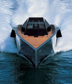 "It was always my dream to have a big yacht, and then one day, my wife bought it for my birthday. I named it ""Dominator""!"