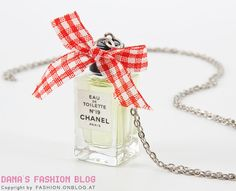 Part Fashion Part Function... perfume sample necklace!