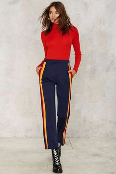 CAMP Collection Track Striped Pant on ShopStyle.
