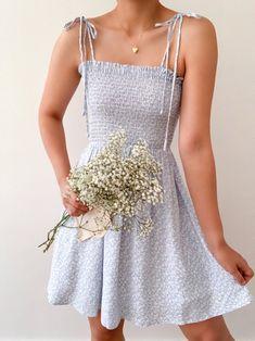 Aesthetic Fashion, Aesthetic Clothes, Look Fashion, Cute Fashion, Cute Casual Outfits, Pretty Outfits, Summer Outfits, Summer Dresses, Stylish Outfits
