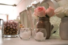 Flowers candy bar