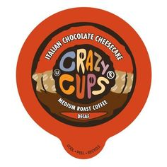 Crazy Cups Decaf Italian Chocolate Cheesecake Flavored Coffee Single Serve Cups for Keurig K Cups Brewer, 22 Count >>> Unbelievable product right here! : K Cups