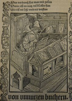 Narrenschiff 1499 Unnutzen Bücher