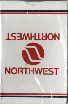 Northwest Airlines Playing Cards
