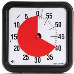 Time Timer Original MAGNETIC 60 Minute Visual Timer – Classroom or Meeting Countdown Clock for Kids and Adults Countdown Clock, Countdown Timer, Classroom Timer, Time Timer, Clock For Kids, Thing 1, Classroom Management, Classroom Organization, Classroom Ideas