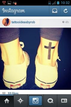 Cross tattoos, Christian tattoos, solid tattoos, simple tattoos, tattoos for women, girls, men