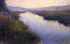 This is a wonderful Pastel painting by Richard McKinley