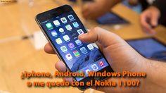 ¿Iphone, Android, Windows Phone o me quedo con el Nokia 1100? http://yeow.com.ar/2015/06/iphone-android-windows-phone-nokia-1100.html #--    A veces un software queda corto respecto al hardware como puede ser Android comparado a las características del iPhone 6 o incluso a los modestos Windows Phone.