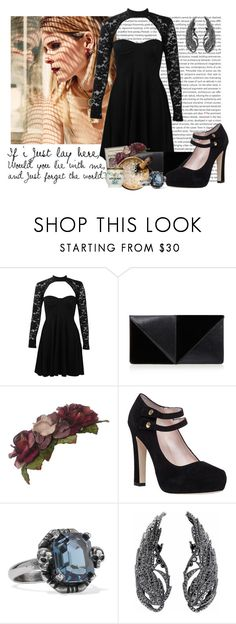 """Running With Secrets"" by grimalkim ❤ liked on Polyvore featuring MARA, Boohoo, UN United Nude, Baudelaire, Her Curious Nature, Kate Spade and Alexander McQueen"