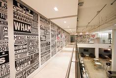 Sony Music Wall Type