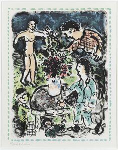 Rassembler dans la campagne - (Marc Chagall)