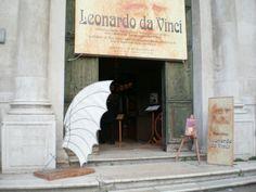 """""""Le macchine di Leonardo"""" - Campo San Barnaba - Venezia"""