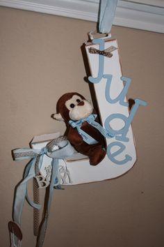 Baby Door Decorations   Pictures of Wall Art and Hospital Door Hanger!