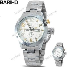 http://www.tinydeal.com/it/bariho-quartz-watch-w-stainless-steel-band-f-men-p-115299.html  (BARIHO) Round Case Quartz Analog Wristwatch Timepiece with Stainless Steel