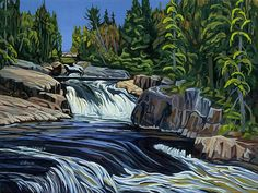"""Ritchie Falls, Haliburton, Ontario, 16"""" x 20"""" giclee print - Limited Edition of 50 - Canadian Art"""