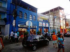 conheça uma das tradicionais sorveterias de Salvador no bairro da Ribeira.