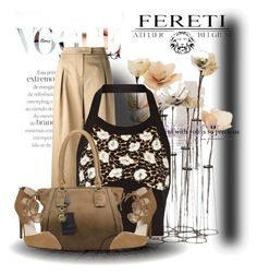 """""""Fereti Bag"""" by andrejae ❤ liked on Polyvore featuring Valentino, Marni, women's clothing, women's fashion, women, female, woman, misses and juniors"""