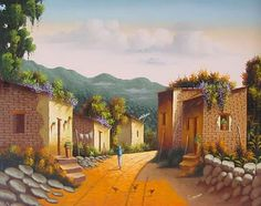 Imágenes Arte Decorativo: PAISAJES MEXICANOS PARA PINTAR