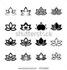 Resultado de imagem para lotus flower vector