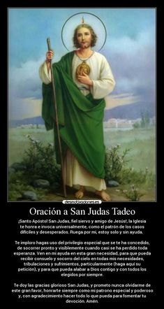 33 Mejores Imágenes De San Juditas Tadeo En 2016 Catholic Saints