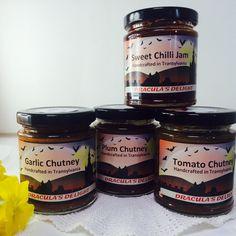 Treasury Gothic Gifts by Juliet Turnbull on Etsy Plum Chutney, Garlic Chutney, Tomato Chutney, Chilli Jam, Sweet Chilli, Boat Girl, Local Honey, Herbalism, Artisan