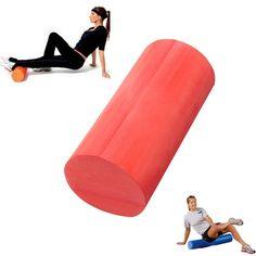 30/45 / 60x15cm massagem eva yoga espuma de fitness rolo de ginástica em casa lisa