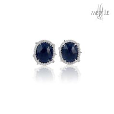 Shop Blue Sapphire #StudEarrings for your loved one's on this #NewYear2017