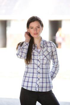 Horseware S/S14: Nola checked shirt