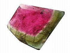 vzácné kameny - Watermelon Tourmaline