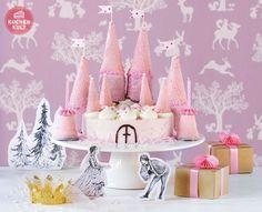 Prinzessinnen-Torte zum Kindergeburtstag