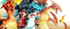 Mega Charizard X vs Mega Charizard Y. Which one will win? Charizard is something fun to draw for me. Visit my other site. Mega Charizard X vs Mega Charizard Y Pokemon Charizard, Mega Pokemon, Pokemon Pins, Pokemon Red, Pokemon Fan Art, Charmander, Pokemon Remake, Pokemon Alpha, Fire Pokemon