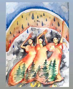 Triple Goddess, Women Empowerment, History, Painting, Collection, Beautiful, Art, Art Background, Historia