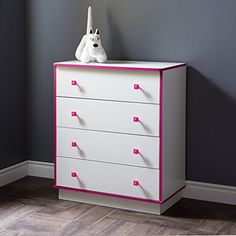 South Shore Logik 4-Drawers Chest, Pure White/Pink South ... https://www.amazon.com/dp/B015G5ZDVY/ref=cm_sw_r_pi_dp_x_JWDBybJH1MDXX