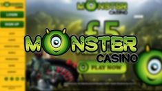Monster Casino's bonus package, no deposit and more