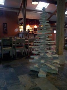 Grote+Kerstboom+van+sloophout+/+steigerhout