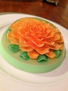 This is all edible jello! 3d jello art