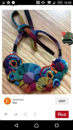 Wrap Scrap Necklace