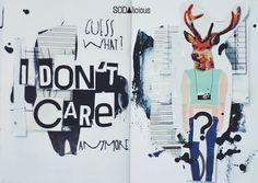 made by Jaszmurka ► SODAlicious art journal challenge No34